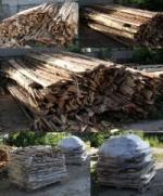 Срезки на штакетник, дрова